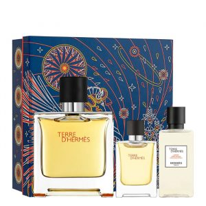 Estuche Hermès Terre d'Hermés Eau de Parfum + Miniatura + After Shave Lotion