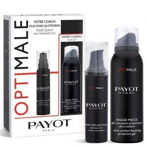 Estuche Payot Homme Optimale Soin Total Anti Edad 50 ml + Gel Afeitado Rasage Precis 100 ml
