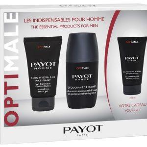 Estuche Payot Men Soin Hydra 24 50ml + Desodorante 24 Horas 75ml + Limpiador Purificante 200ml
