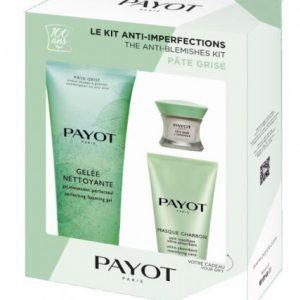 Estuche Payot Anti-Blemishes Pâte Grise L'Original + Gelée Nettoyante + Masque Charbon