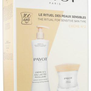 Payot Crème Nº2 Cachemire Anti-Stress Anti-Rojeces Calmante + Crème Nº2 Eau Lactée Micellaire