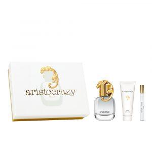 Aristocrazy Brave Edt 80ml Gift Set Body Lotion 75ml + Vapo 10ml