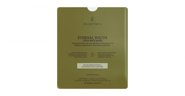 Alqvimia Eternal Youth Gold Face Mask