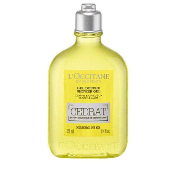 L'Occitane Shower Gel Cedrat For Men 250ml