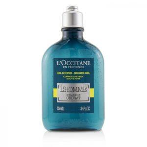 L'Occitane L'Homme Cologne Cedrat Shower Gel Body and Hair