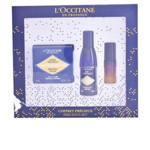 L'Occitane Immortelle Lote Precious Creme 50ml + Immortelle Essential Water 30ml + Immortelle Reset Nuit 5ml